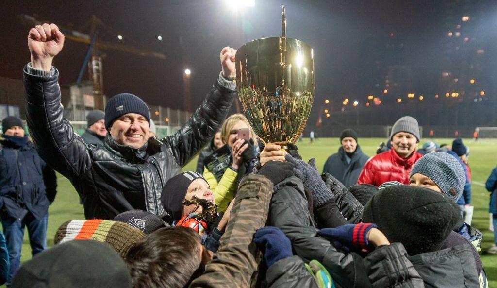 Футболисты команды «Юность Москвы — Торпедо» победили в турнире памяти Владимира Фомичева