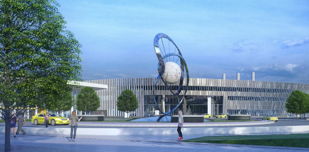Арт-объект украсит ТПУ «Рязанская» на юго-востоке Москвы