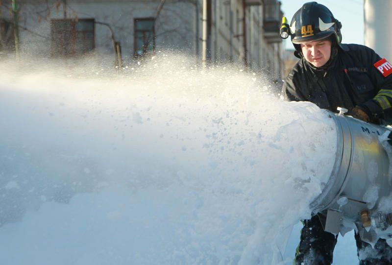 Крупный пожар локализовали на юго-востоке Москвы