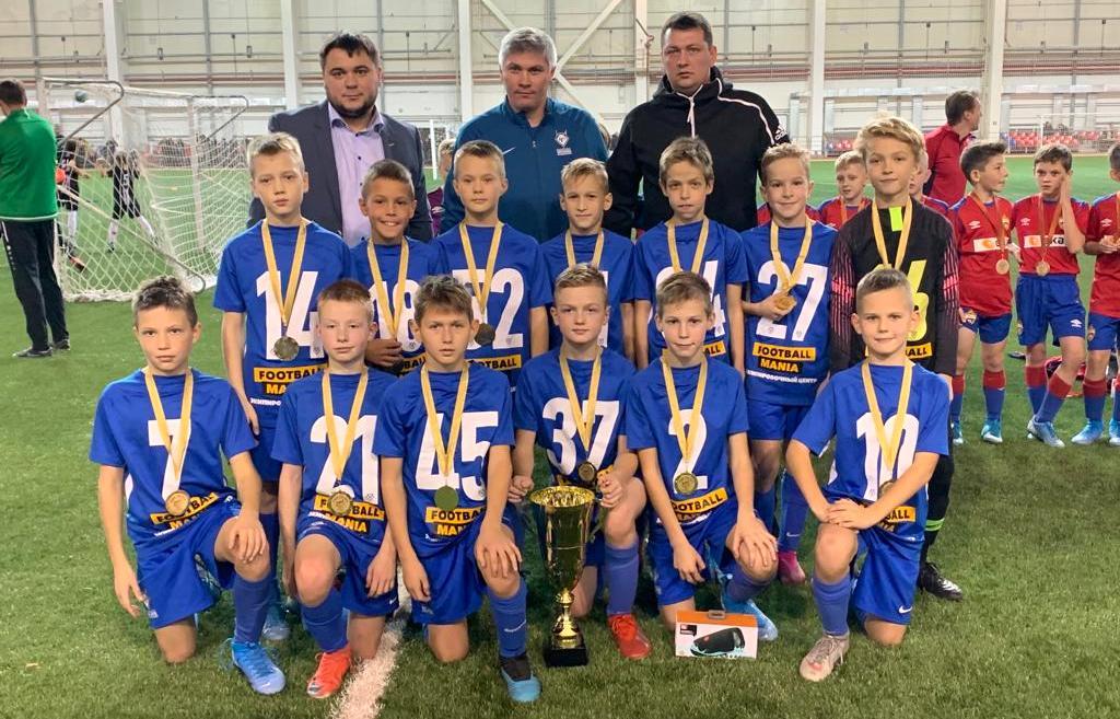 Юные футболисты из «Чертаново» завоевали золото на чемпионате в Казани