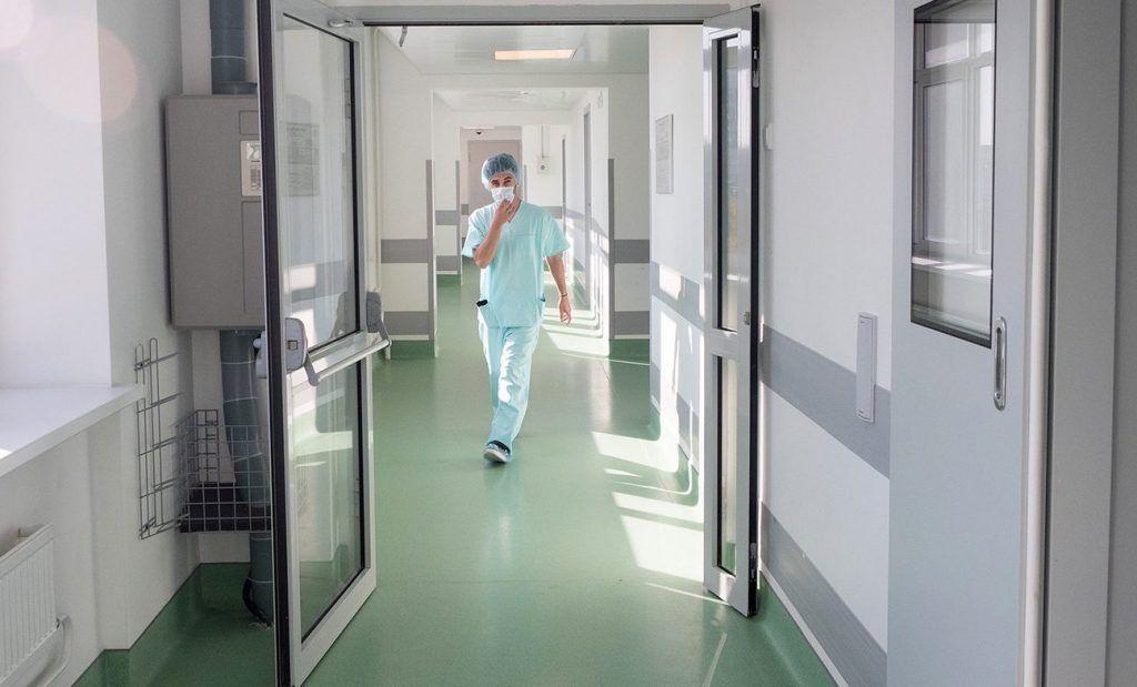 Новый корпус больницы открыли в Донском районе. Фото: сайт мэра Москвы