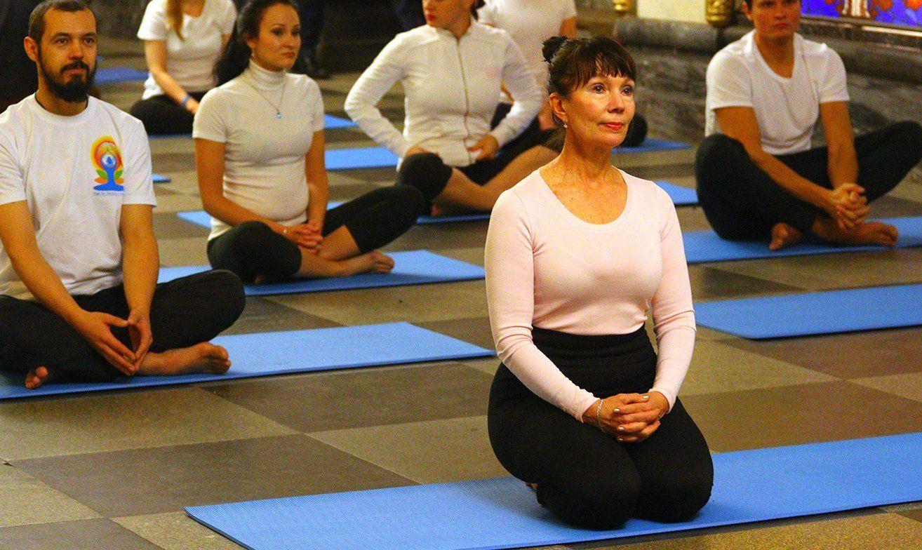 Свобода тела и духа: открытое занятие по хатха-йоге проведут в «Дружбе»