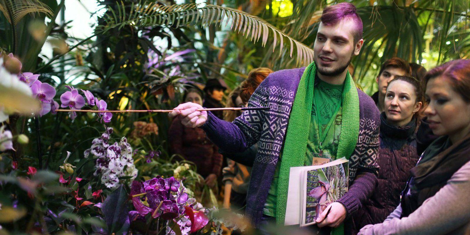 Ботанический сад МГУ пригласил на фестиваль орхидей