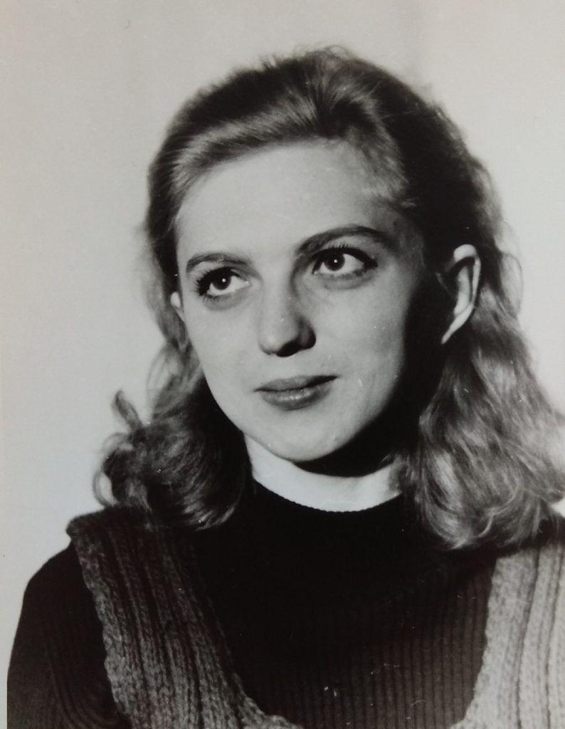 1975 год. Янина Когут на концерте в театре-студия «Союз». Фото из личного архива