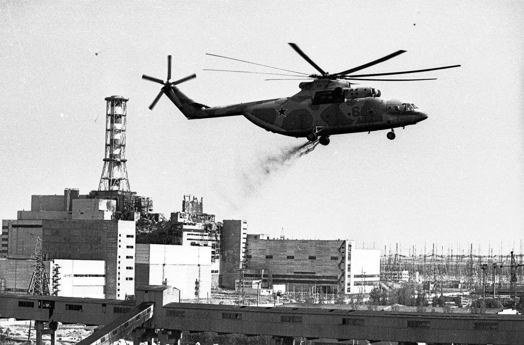 Май 1986 года. Ликвидация аварии на Чернобыльской АЭС. Фото: Виктор Хабаров