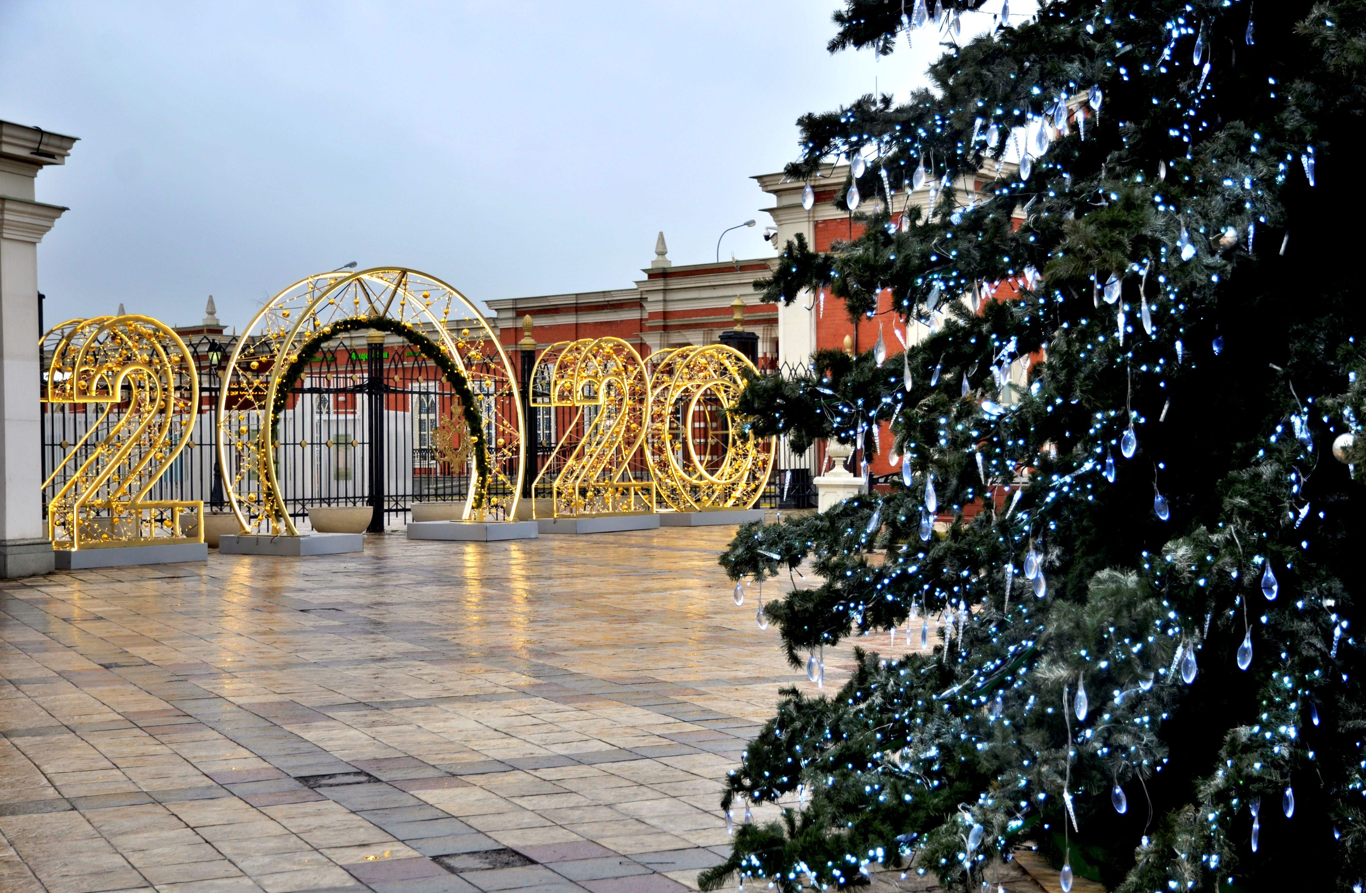 Горожан пригласили провести новогоднюю ночь в «Царицыне»