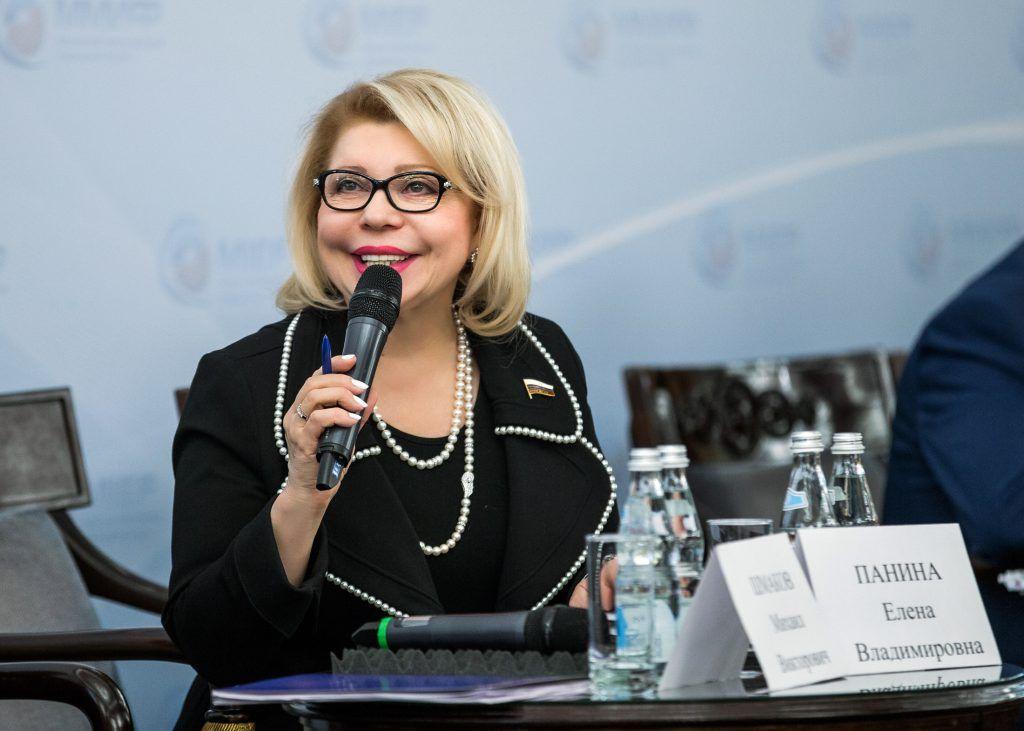 Депутат Государственной Думы Российской Федерации Елена Панина