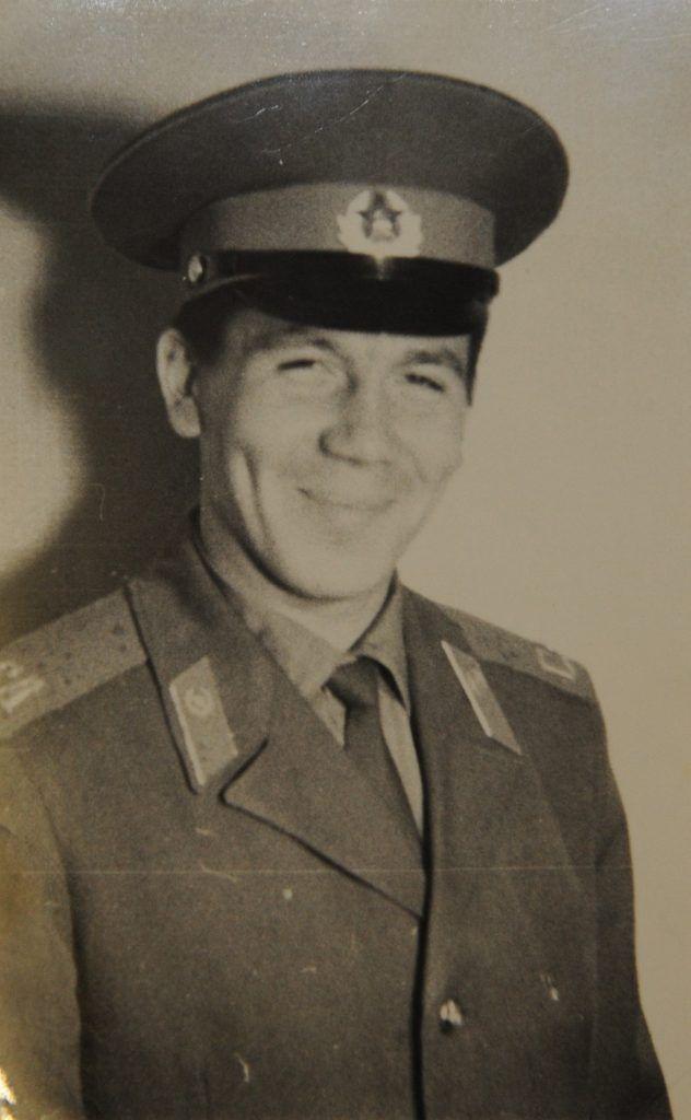1972 года. Геннадий Яковлев на службе. Фото из личного архива