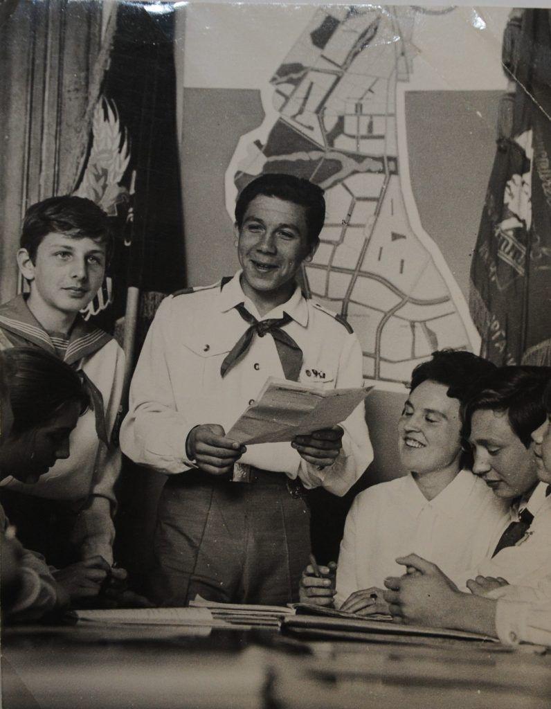 1967 год. Геннадий Яковлев в Дом пионеров. Фото из личного архива