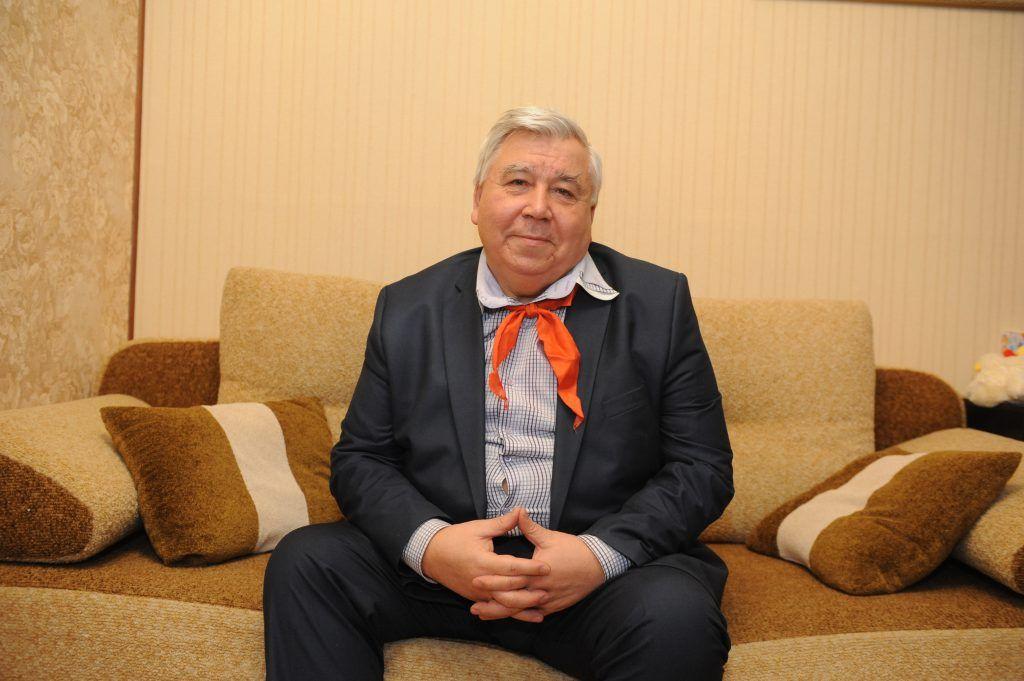 Геннадий Яковлев руководил школой № 556 39 лет. Фото: Игорь Генералов