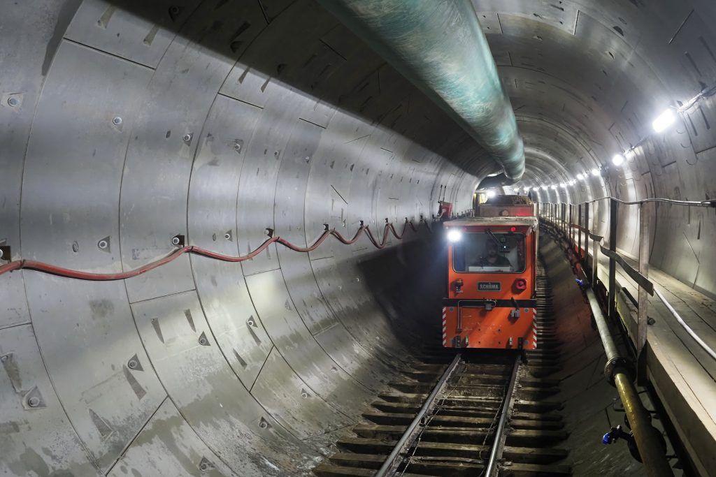 Специалисты начали освобождать участки для Бирюлевской линии метро. Фото: Антон Гердо, «Вечерняя Москва»