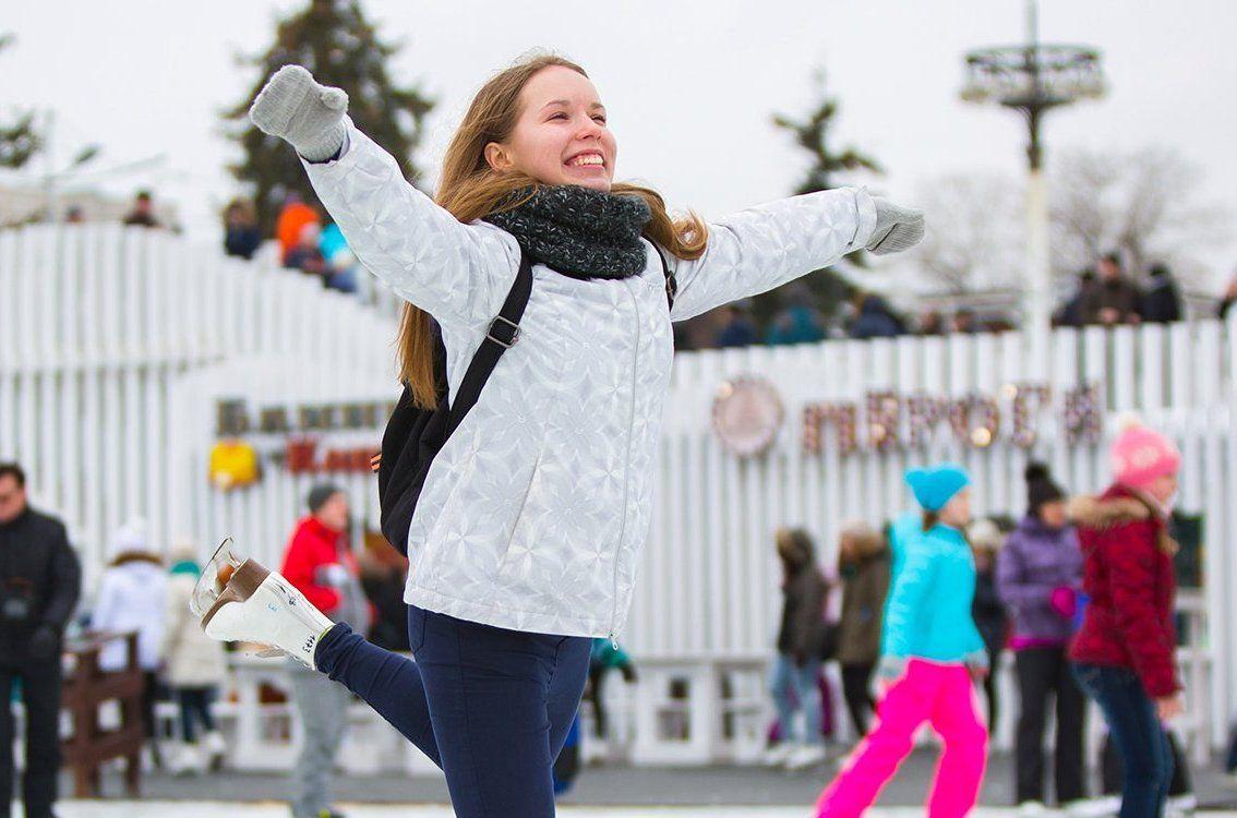 Каток с натуральным льдом откроют в «Коломенском»