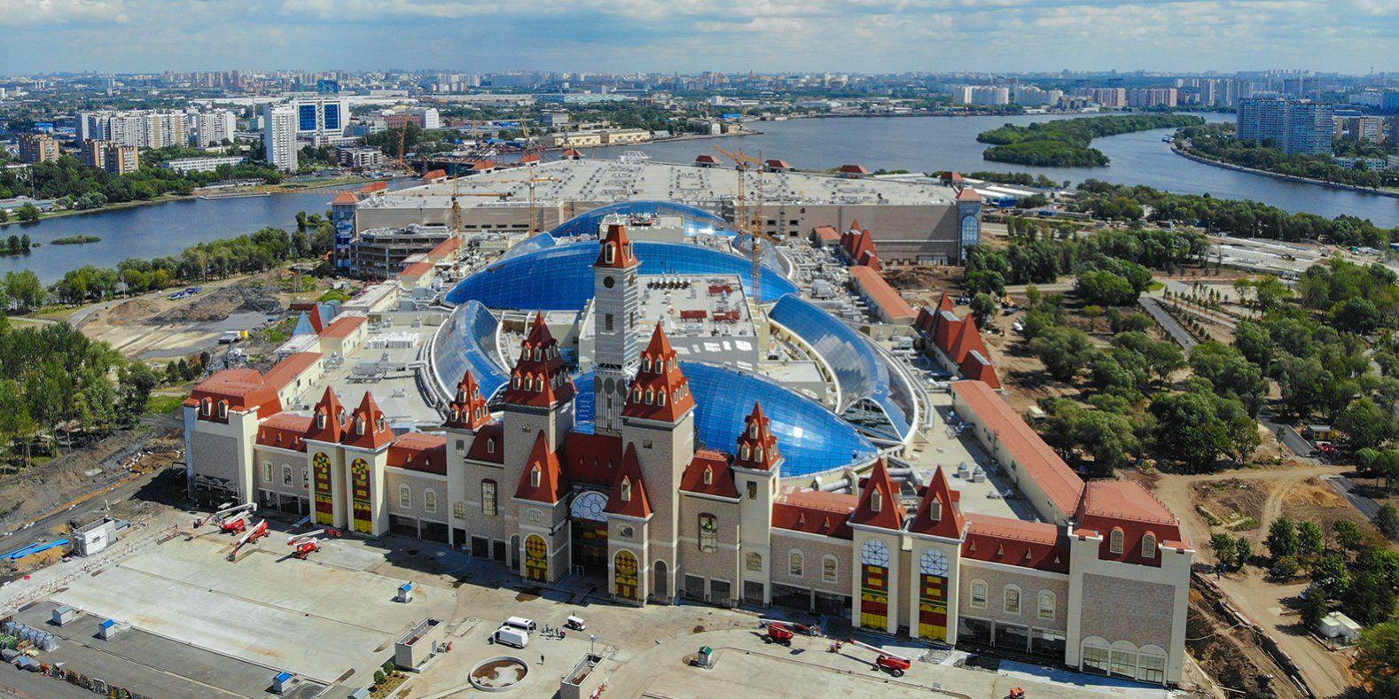 Его площадь равна 40 футбольным полям. Фото: mos.ru