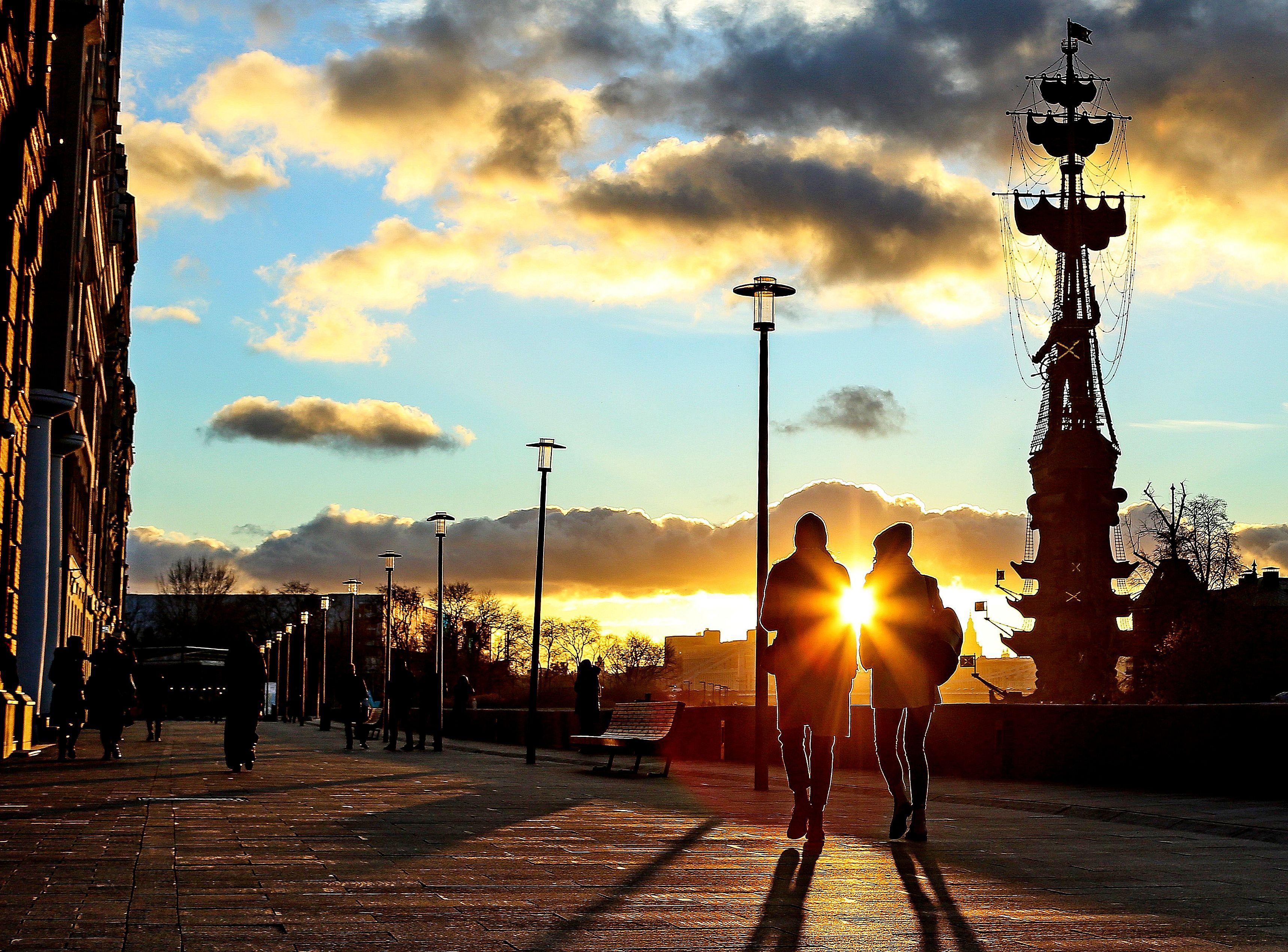 Гидрометцентр: пятница в Москве будет теплой