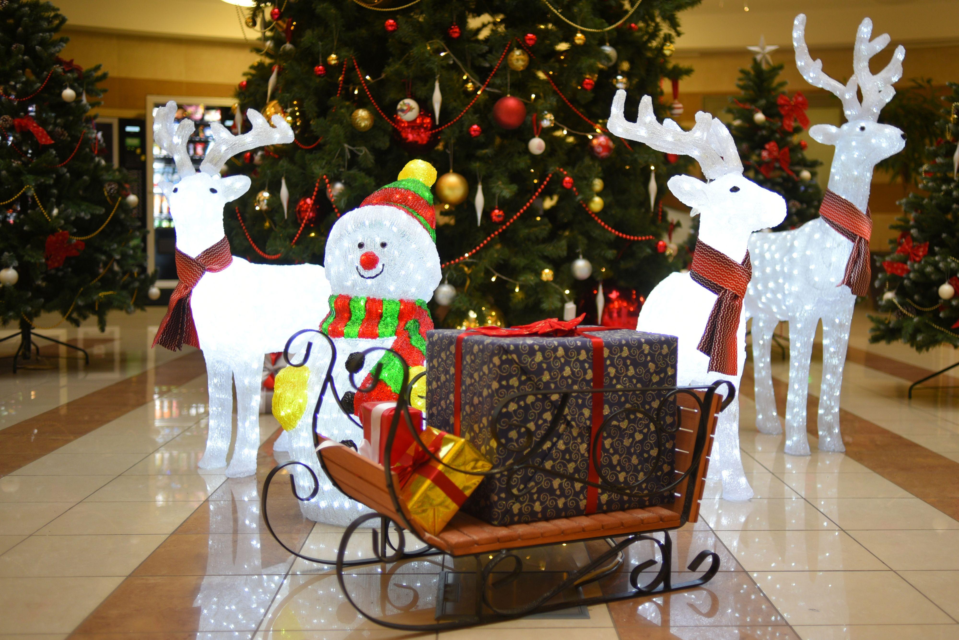 Новогодние елки украсили станции МЦК