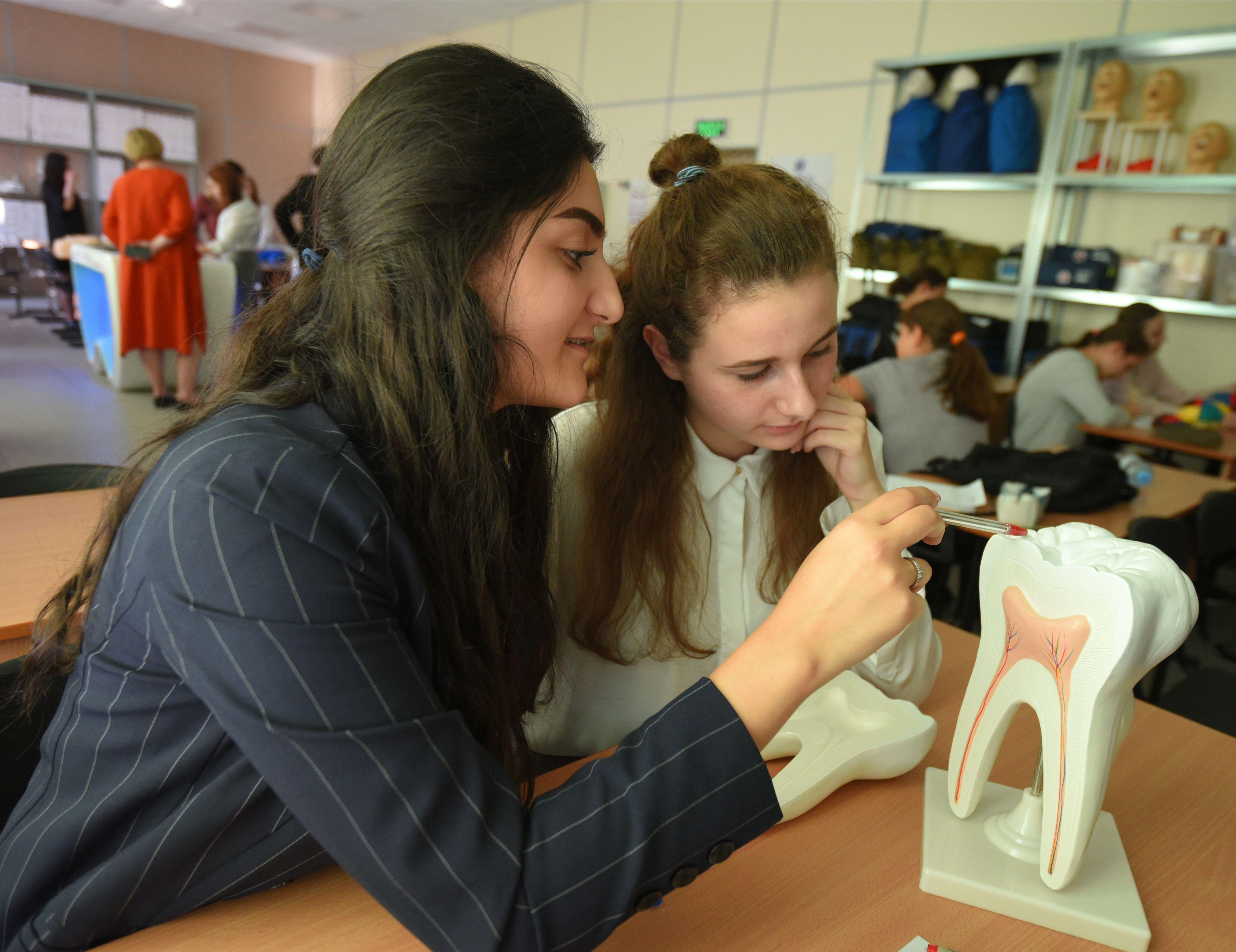 Москвичам рассказали о пользе проекта «Школа старшеклассников»