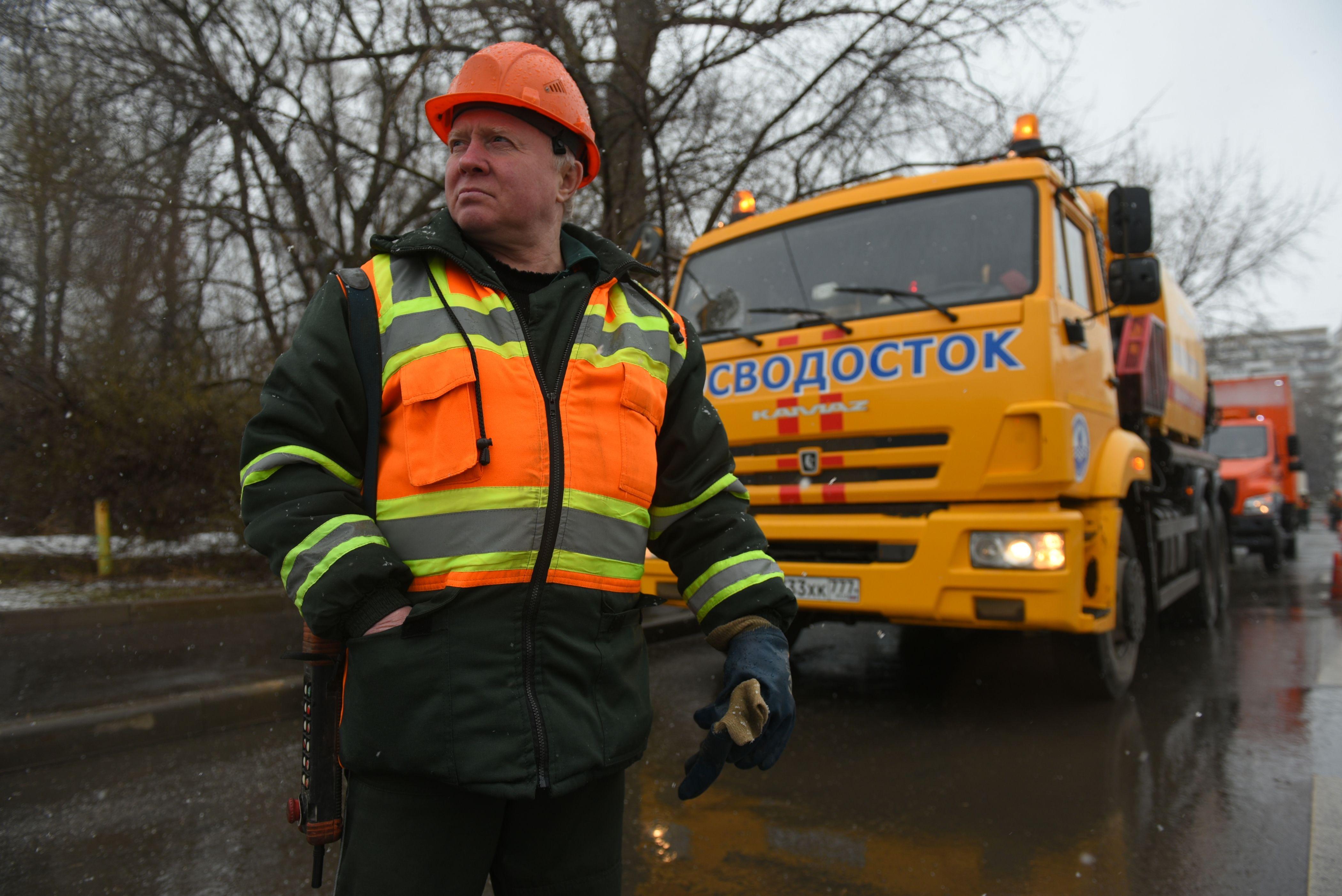 Автобазу Мосводостока откроют на юге Москвы