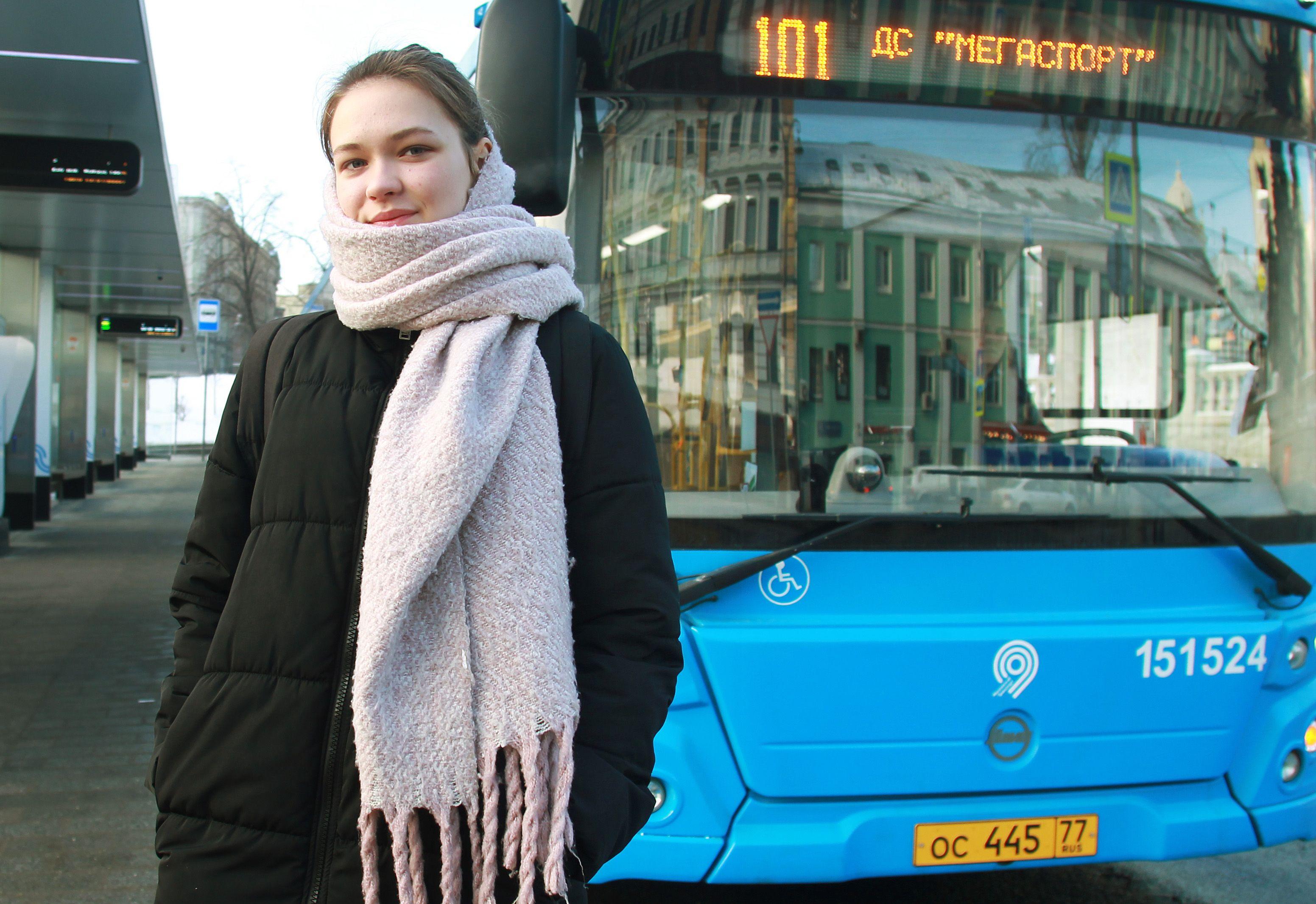 Более 1,1 тысячи новых автобусов запустили в Москве за год