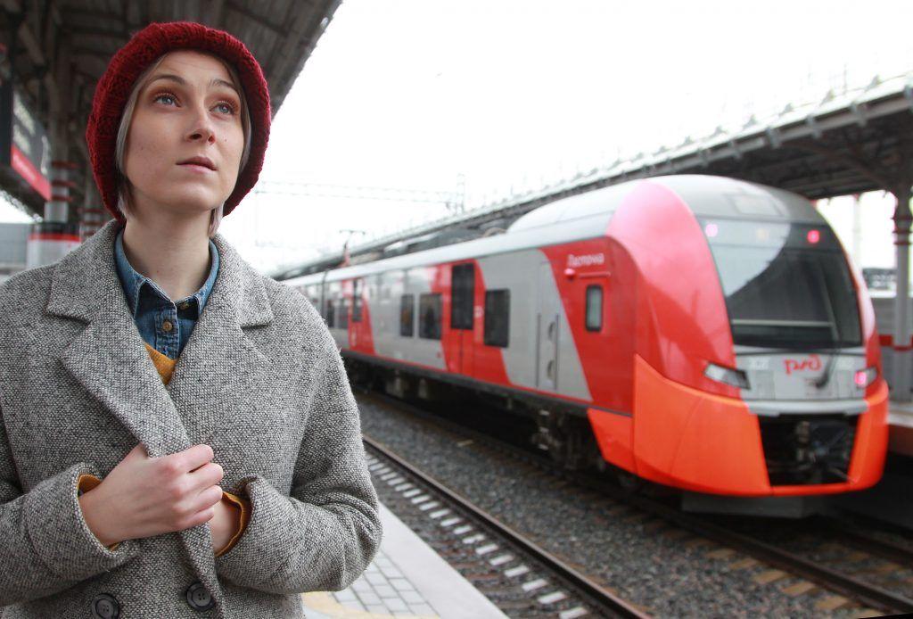 Новый рекорд по количеству пассажиров установили на МЦК. Фото: Наталия Нечаева, «Вечерняя Москва»