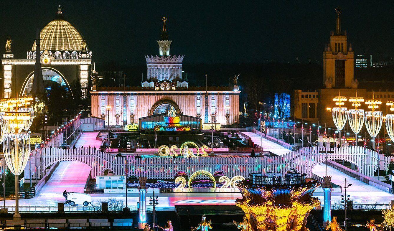 Концерт, ледовое шоу и фейерверк: программа новогодней ночи на ВДНХ
