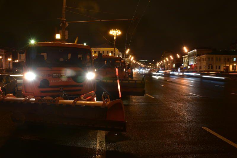 Городские службы Москвы перевели на усиленный режим работы
