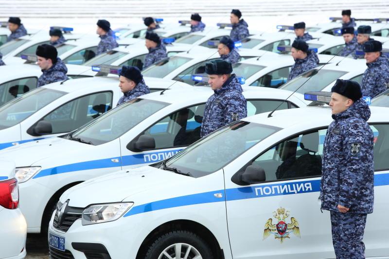 На юге столицы полицейские провели акцию «Засветись, стань заметнее!»