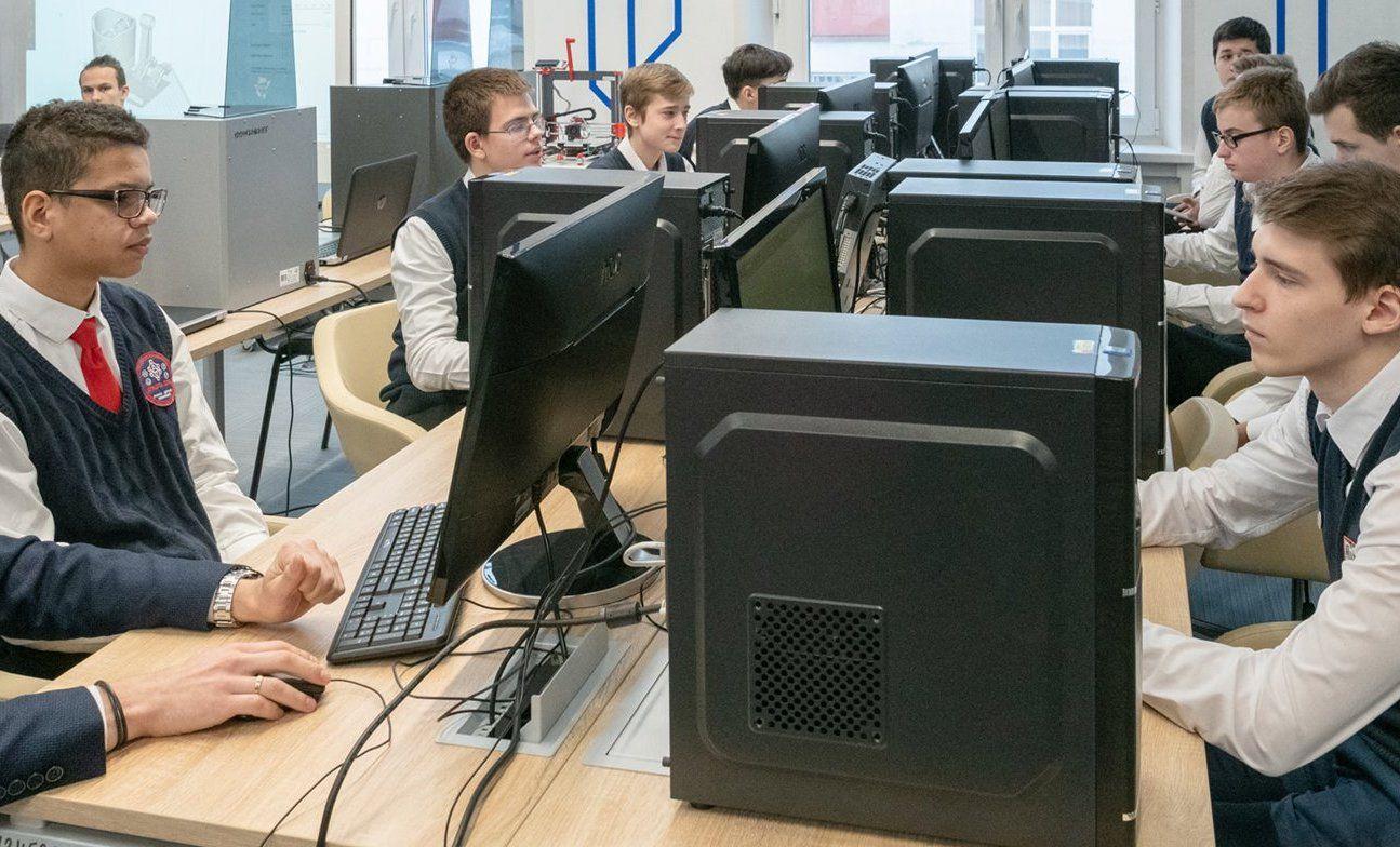 Столичным школьникам расскажутоб умном городе и цифровизации