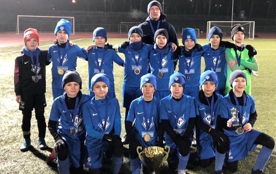 Юные футболисты «Чертанова» выиграли отборочный турнир Strogino Cup