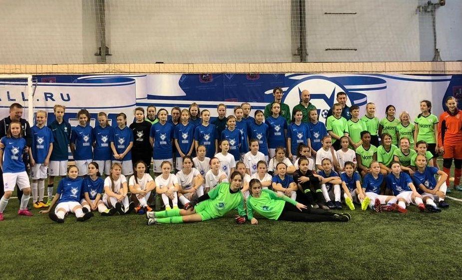 Юные футболистки «Чертаново» встретились с коллегами из Германии