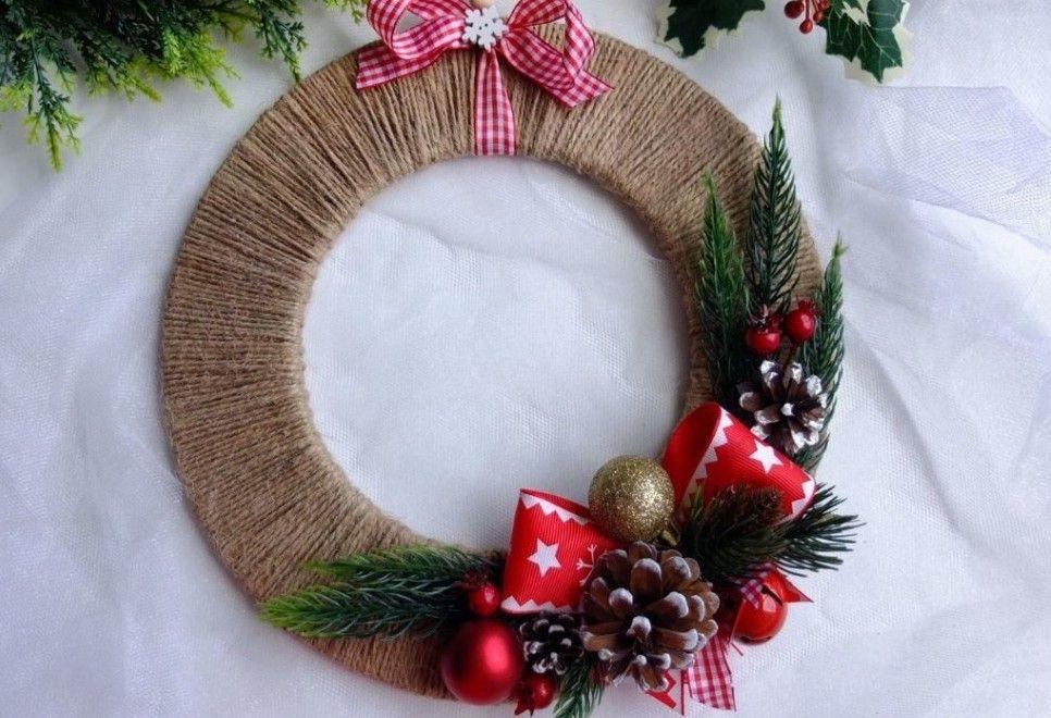 Традиционные рождественские венки смастерят гости «Москворечья»