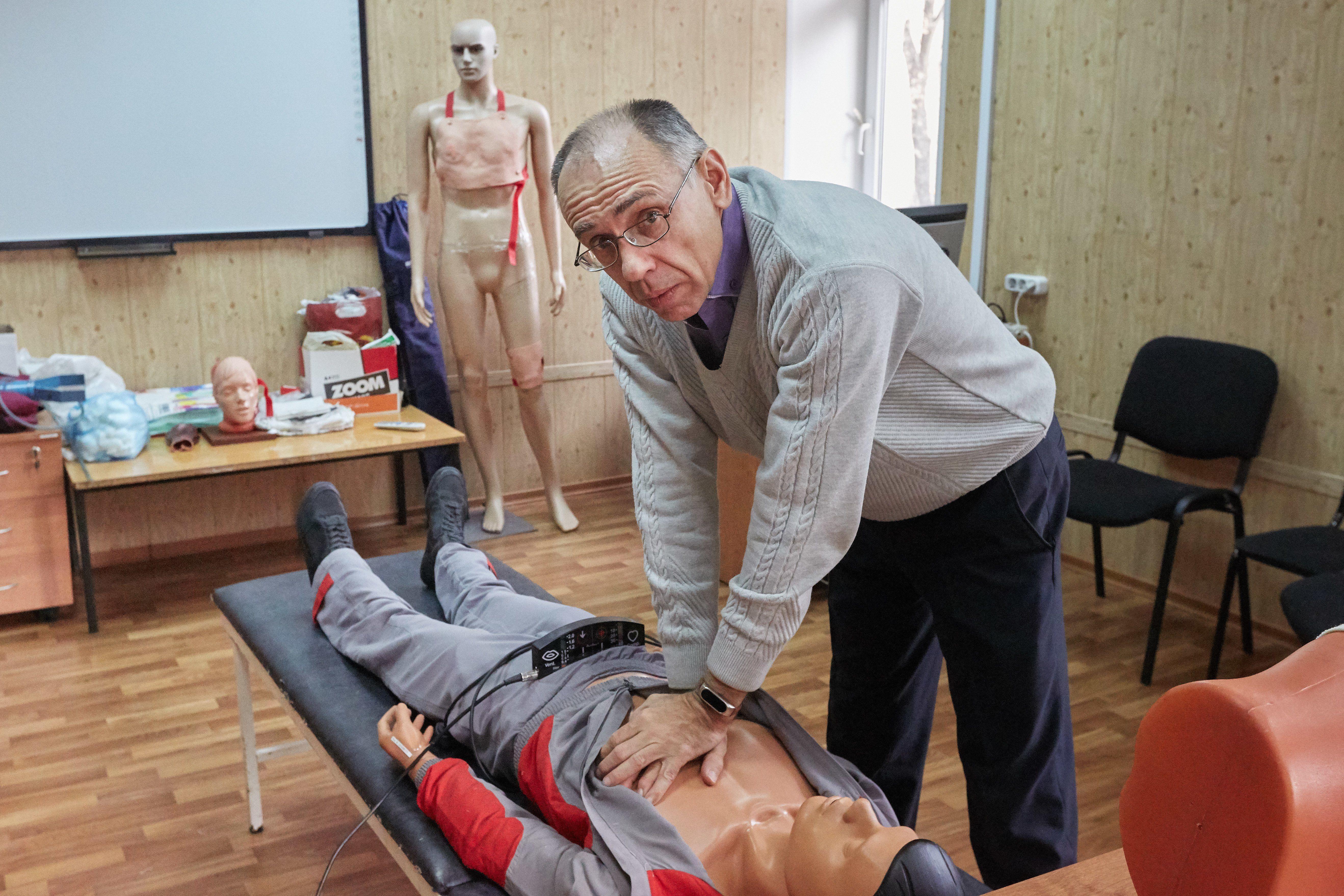 Определен победитель в номинации «Лучший преподаватель Учебно-методического центра по ГО и ЧС»  и пожарной безопасности города Москвы