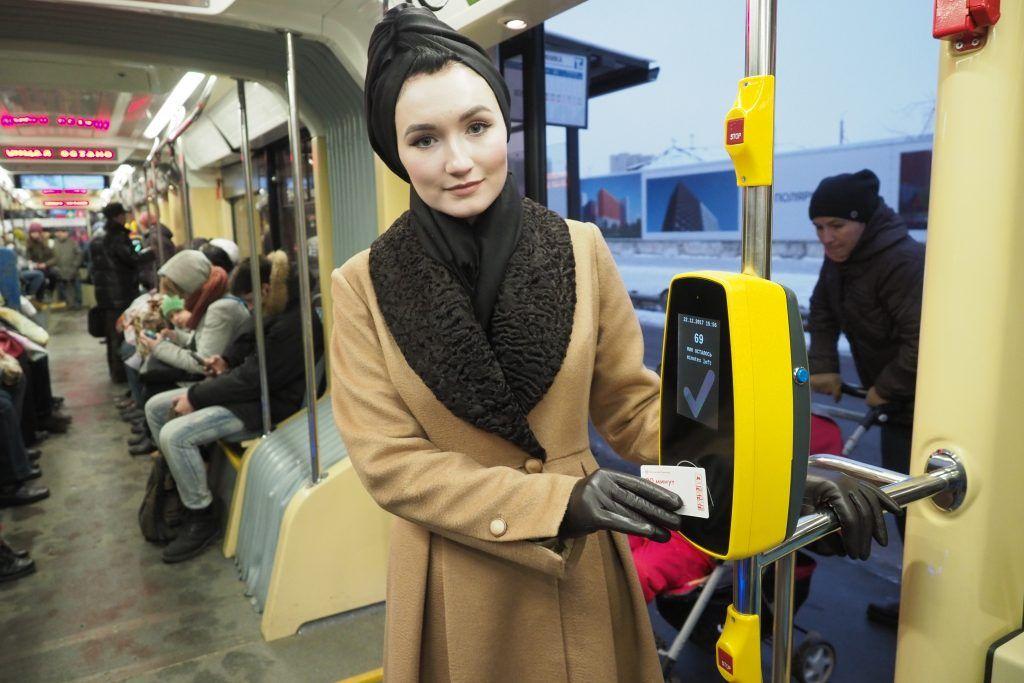 Трамваи «Витязь-Москва» собрали 90 миллионов пассажиров за год