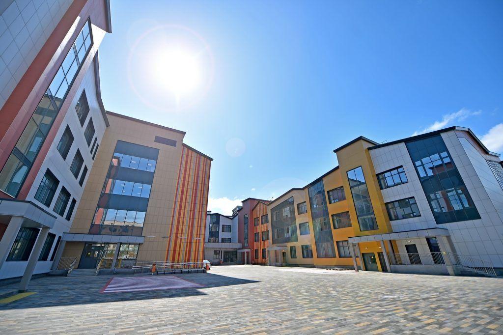 Экспериментальную школу-гигант на территории ЗИЛ открыли. Фото: сайт столичного Комплекса градостроительной политики и строительства
