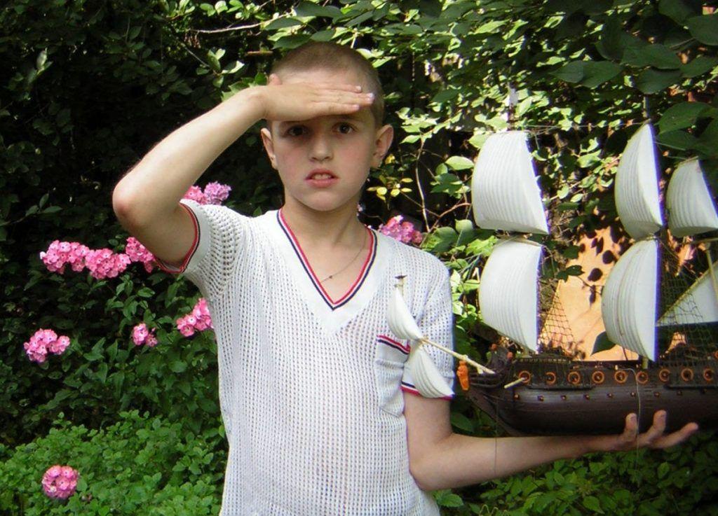 2008 год. Родители Андрея воспитали в мальчике честность и доброту. Фото из личного архива