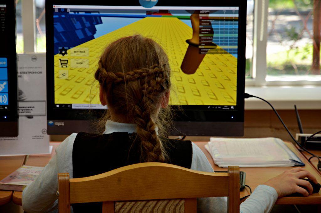 Интерактивные занятия представили в библиотеке «Московской электронной школы». Фото: Анна Быкова