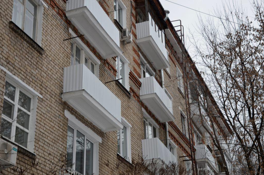 Дом 1962 года постройки в Москворечье-Сабурово будет отремонтируют. Фото: Анна Быкова
