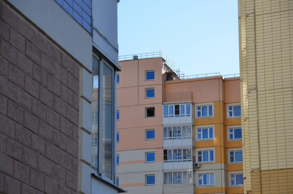 Пять корпусов жилого квартала ввели в эксплуатацию в Чертанове Южном. Фото: Анна Быкова