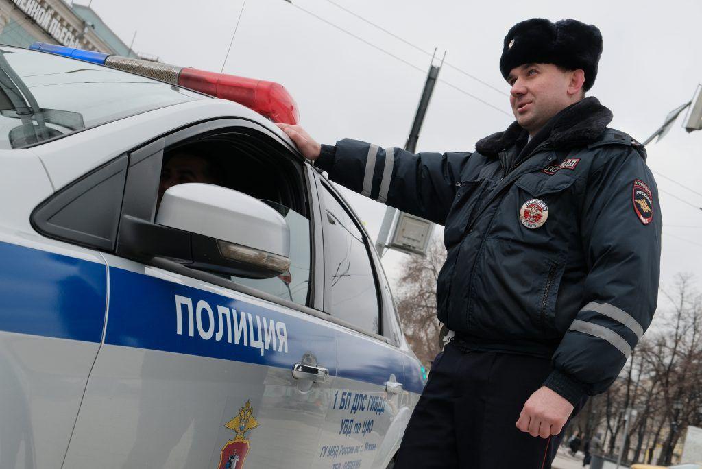 Московская полиция получила 35 новых автомобилей