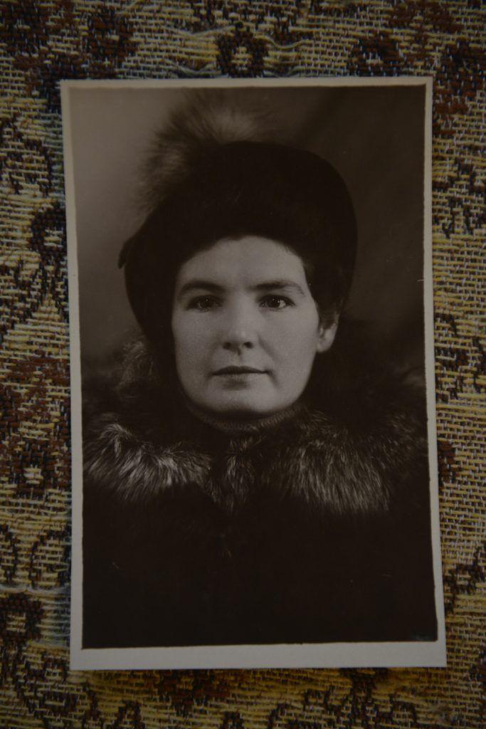 1949 год. Ольга Рудич во время учебы в педагогическом институте. Фото: Наталья Феоктистова