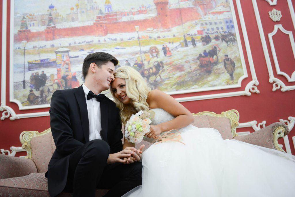 Около 430 пар узаконят отношения в День святого Валентина. Фото: архив, «Вечерняя Москва»