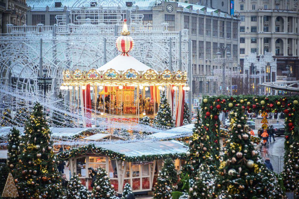 Демонтаж новогодних украшений в Москве стартует в ночь на 1 февраля