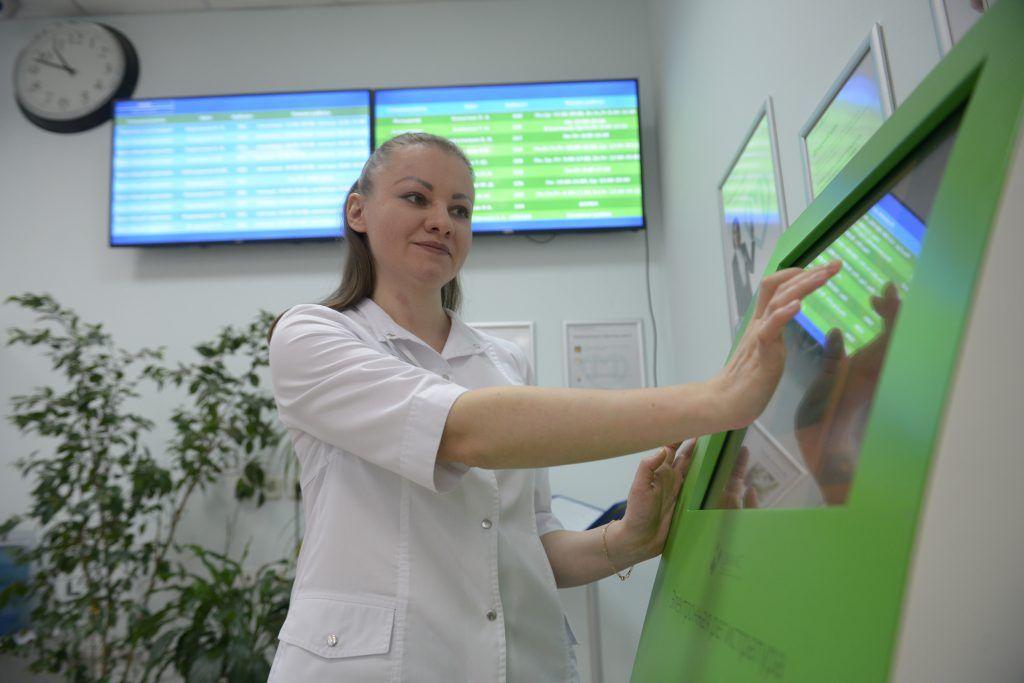 Объемы строительства медицинских учреждений увеличат в Москве. Фото: Наталья Феоктистова