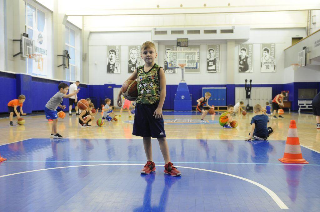 Будущие звезды баскетбола учатся в школе «Тринта»
