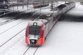 Горожанам посоветовали пересесть на МЦК и МЦД из-за снега. Фото: Антон Гердо, «Вечерняя Москва»