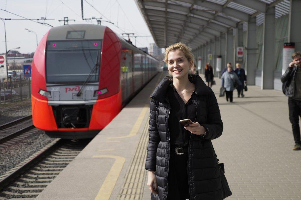 Более 1,7 миллиона пассажиров проехали по МЦК на праздниках. Фото: Антон Гердо, «Вечерняя Москва»