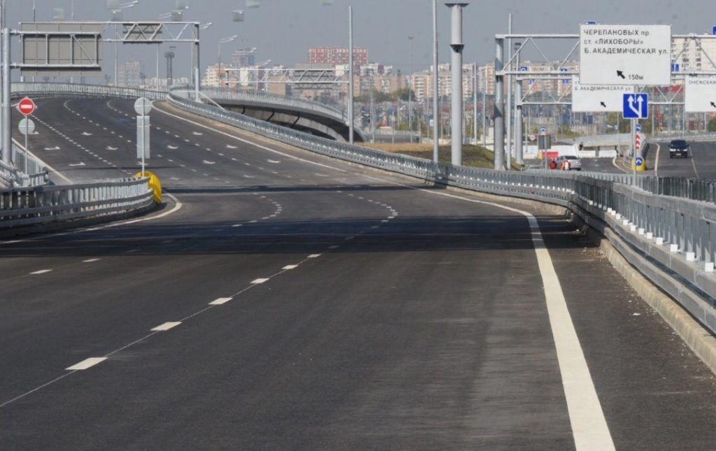 Более 350 километров дорог построят в столице в ближайшие два года. Фото: Владимир Новиков, «Вечерняя Москва»