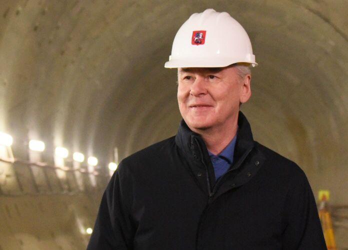 Собянин дал старт проходке очередного тоннеля БКЛ метро