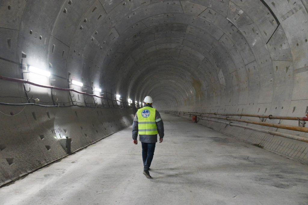 Эксперты оценили строительство станции метро «Воронцовская» на юго-западе Москвы