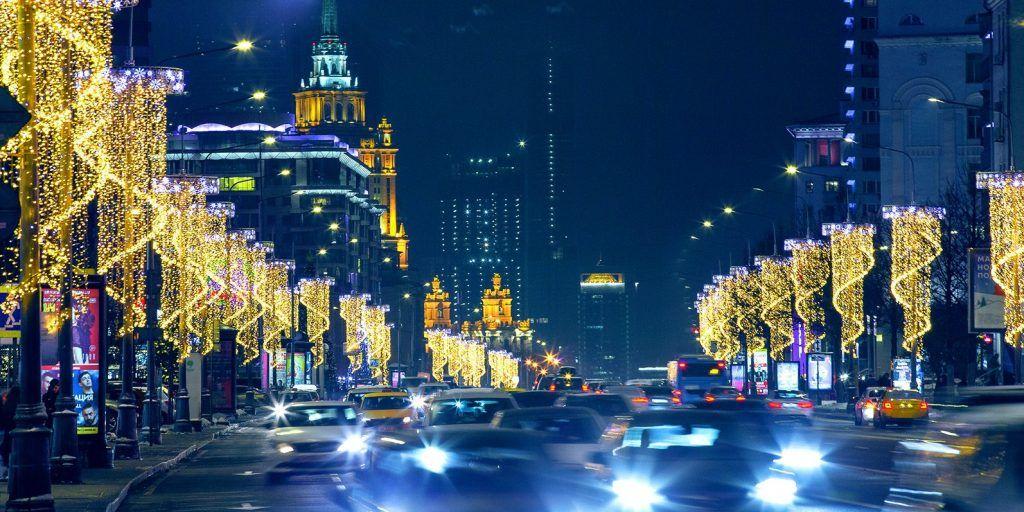 Транспорт Москвы продлит свою работу в Рождественскую ночь