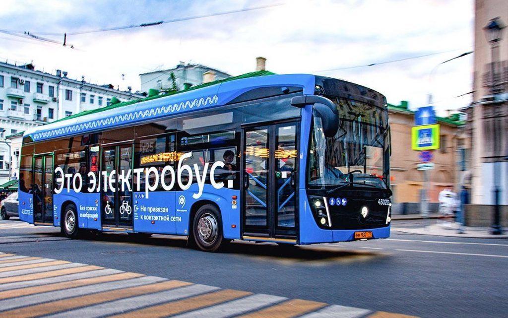Москвичи поддержали переход столицы на электробусы. Фото: сайт мэра Москвы